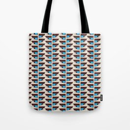 Duck wings surface patterns Tote Bag