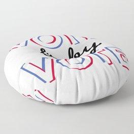 Vote Baby Vote 030116 Floor Pillow