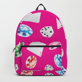 #casino #games #accessories #pattern 7 Backpack