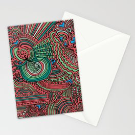 Drawing Meditation - Salmon Stationery Cards