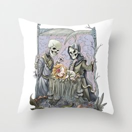 What Have We Here Throw Pillow