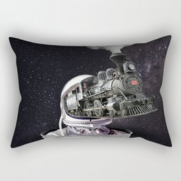 Heading to The Space Rectangular Pillow