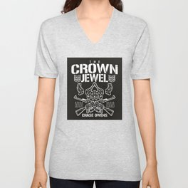 The Crown Jewel Unisex V-Neck