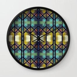 Windowpaned Wall Clock