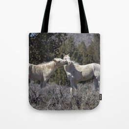Wild Horses with Playful Spirits No 2 Tote Bag