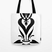 mythology Tote Bags featuring Sweet Mythology Graphic Design by Denis Marsili DDTK