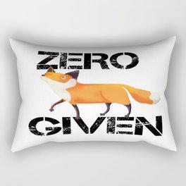 Zero Fox! Rectangular Pillow