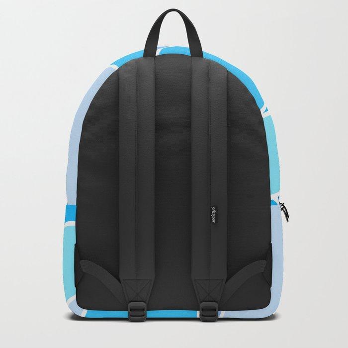 Broken Blue Hues Backpack
