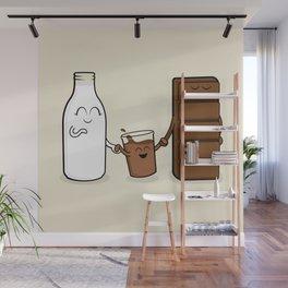 Milk + Chocolate Wall Mural