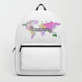 Get Lost and Travel Backpack