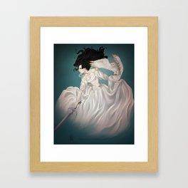 The Owl and The Sword Framed Art Print