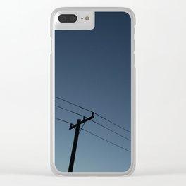 Telegraph Road Clear iPhone Case