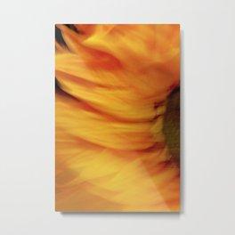 Abstract Dizzy Daisy1 Metal Print
