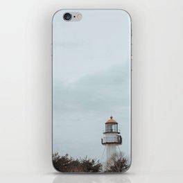 Whitefish Point Lighthouse on Lake Superior iPhone Skin