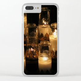 church candles Clear iPhone Case