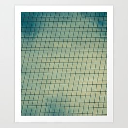 Skyward Mosaic Art Print