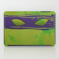tmnt iPad Cases featuring TMNT Donnie by Some_Designs