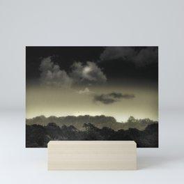 Stored in the Cloud Mini Art Print