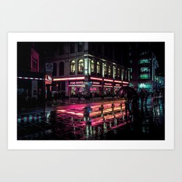London Nights / Liam Wong Art Print