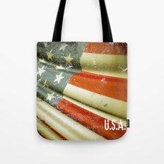 Flag of USA Tote Bag
