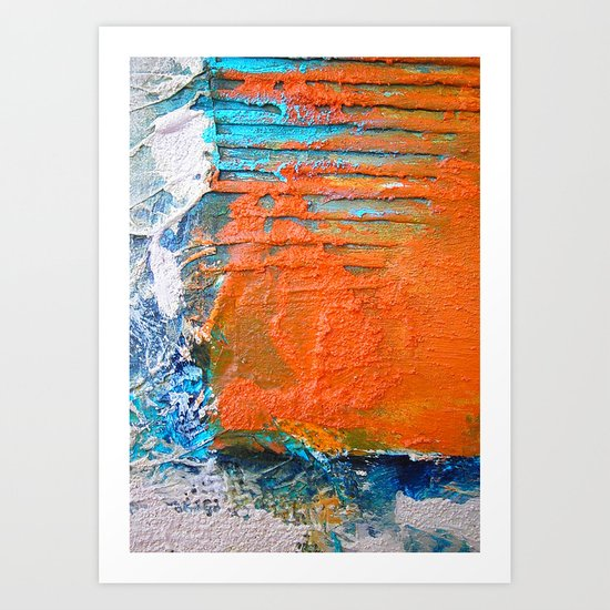COLOUR · SHAPE · DEPTH Art Print