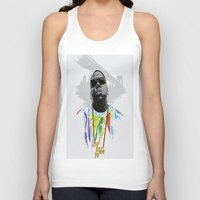 notorious big Tank Tops featuring Notorious by Tecnificent