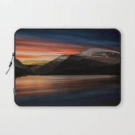 Lake Sunset Snowdonia Laptop Sleeve