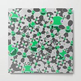 HW Flower inverse  Metal Print