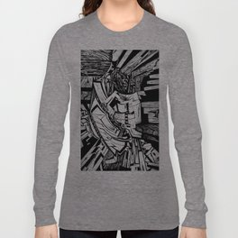 Mighty Morphin' Monolith  Long Sleeve T-shirt