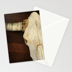 Longhorn Skull Stationery Cards