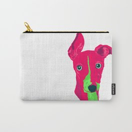 italian greyhound - wht Carry-All Pouch