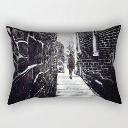 Still As Stone Rectangular Pillow