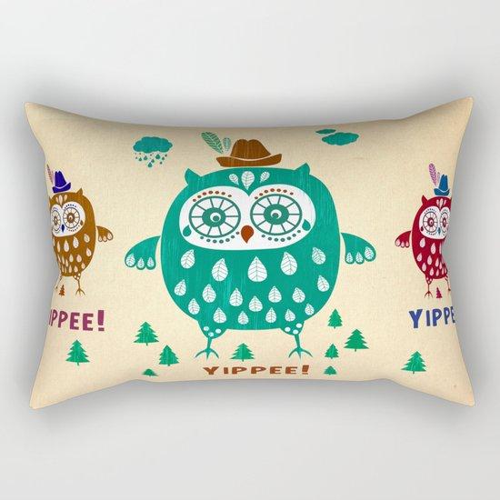 yippiee! Rectangular Pillow