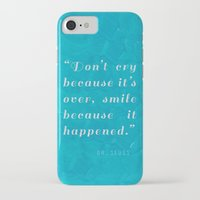 dr seuss iPhone & iPod Cases featuring Quote / Dr. Seuss by Justified
