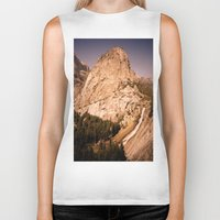 yosemite Biker Tanks featuring Yosemite by Richard PJ Lambert