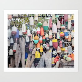 Buoys | Nautical Photograph Art Print
