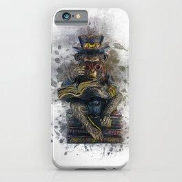 Steampunk Monkey iPhone Case