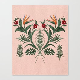 The Pink Tiki Room Canvas Print