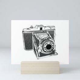 Vintage camera Mini Art Print