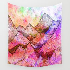 Peaks of Colours Wall Tapestry