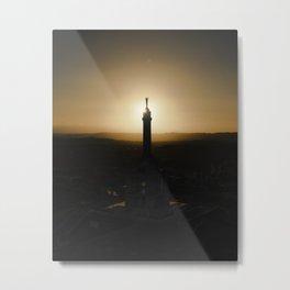 Sunset at Santiago Dominican Republic Metal Print