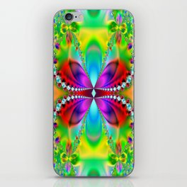 Abstract Jewel Butterfly  iPhone Skin
