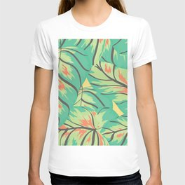 Candy Colored Monstera T-shirt
