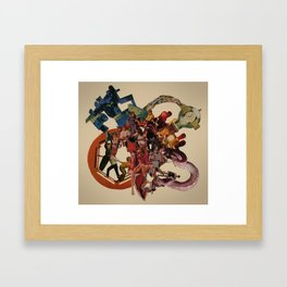 planetary obsolescence Framed Art Print