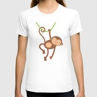 arctic monkeys T-shirts featuring Monkeys by olillia