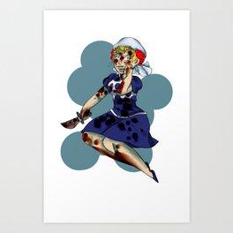 Suzy QQ Art Print