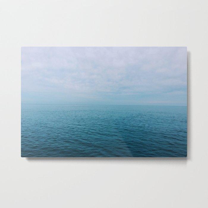 The Endless Sea Metal Print