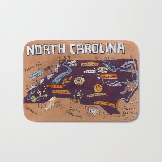 NORTH CAROLINA Bath Mat
