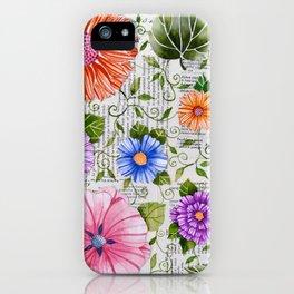 Garden Headlines iPhone Case