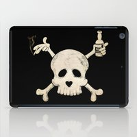 cigarettes iPad Cases featuring Cigarettes & Alcohol  by paddyroo